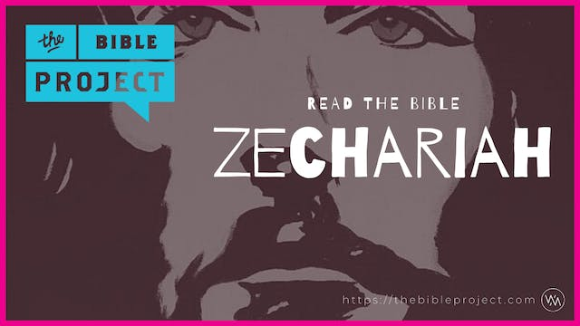 The book of Zechariah Overview.