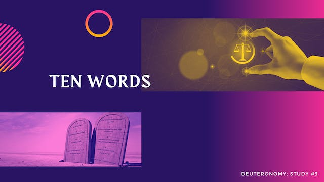 These Are The Words: Ten Words - Epis...