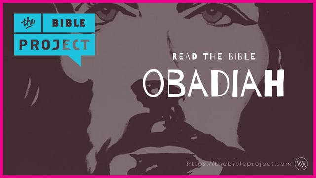 The book of Obadiah Overview.