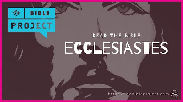 The book of Ecclesiastes Overview.