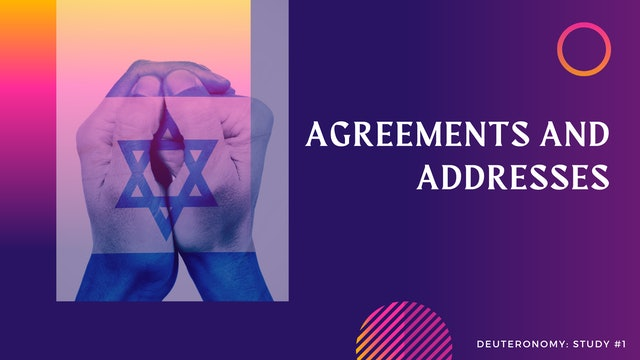 These Are The Words: Agreements and Addresses - Episode 1