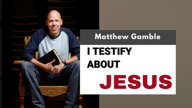 Matthew Gamble - Jesus and Me