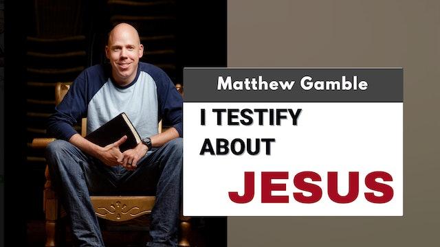 Matthew Gamble - Jesus and Me