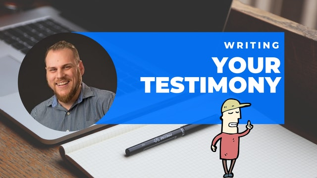 Episode 8: 60 Second Writing Tips - Writing your Testimony