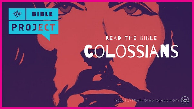The book Of Colossians Overview.