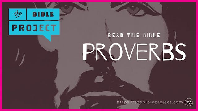 The book of Proverbs Overview.