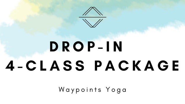 Live Classes: Drop-In 4-Class Package