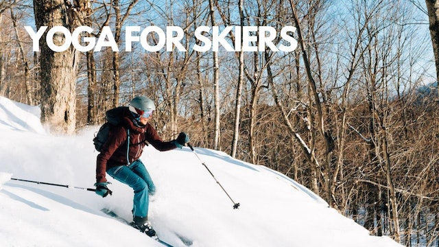 Yoga for Skiers 3-Class Downloadable Package