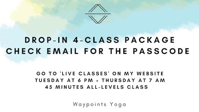 Drop-In 4-Class Package Information