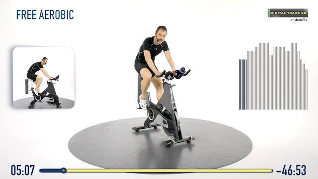 Spin bike free aerobic