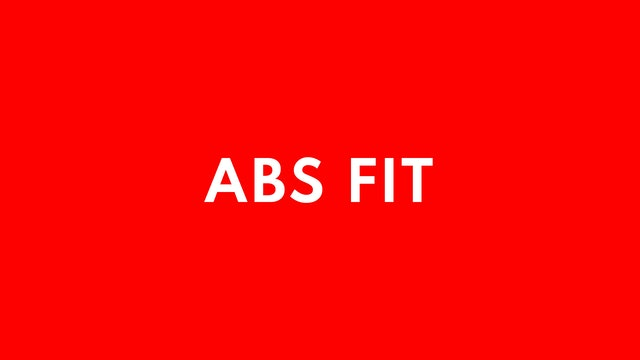 ABS Fit