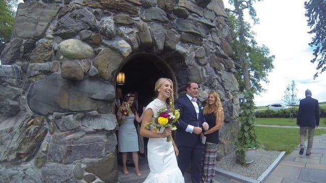 Krista and Tony Ceremony