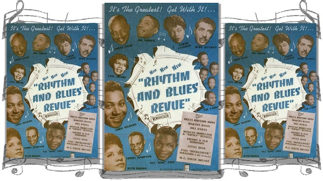 Rhythm and Blues Revue, 1955