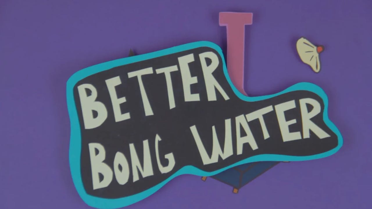 why does bong water stink