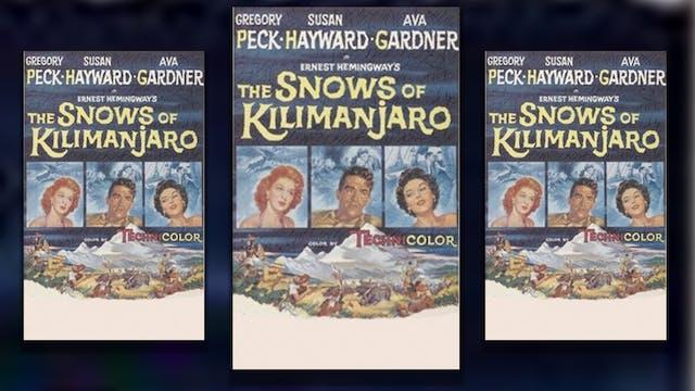 The Snows of Kilimanjaro, 1952
