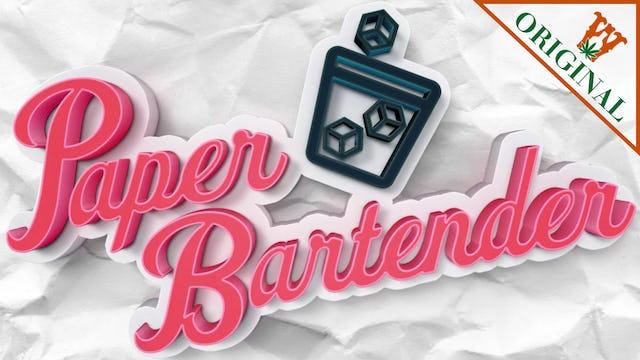 Paper Bartender