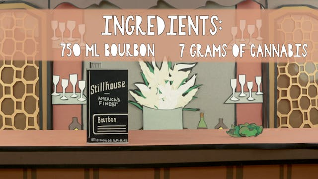 Cannabis Infused Bourbon