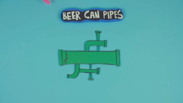 Beer Can Pipes