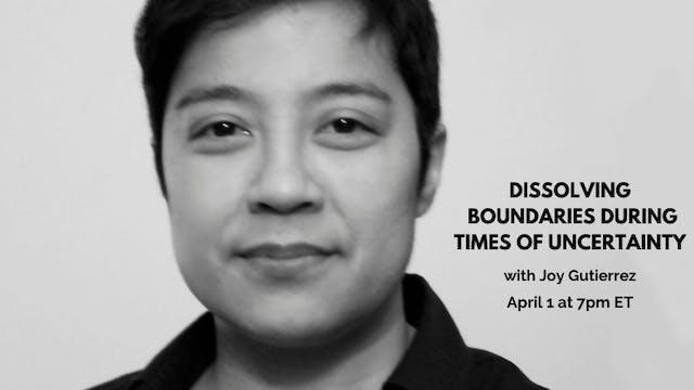April 1st, 2020: Joy Gutierrez