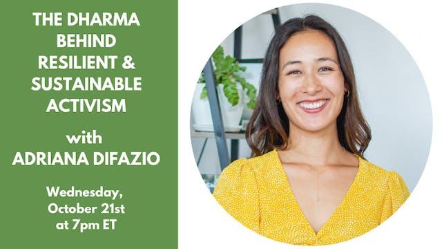 Live Talk: Adriana DiFazio—October 21st, 2020
