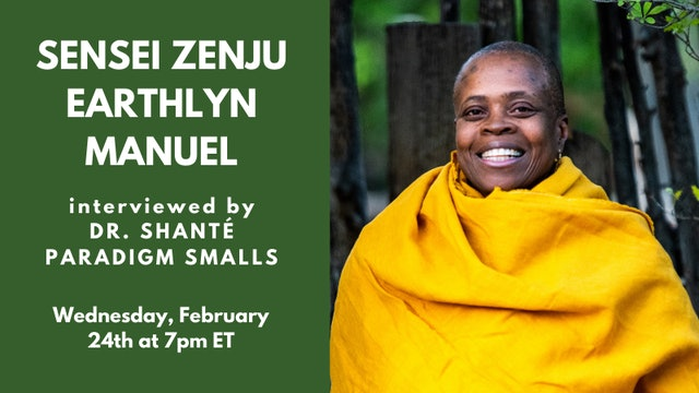Recorded Talk: Sensei Zenju Earthlyn Manuel