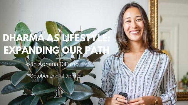October 2nd, 2019: Adriana DiFazio