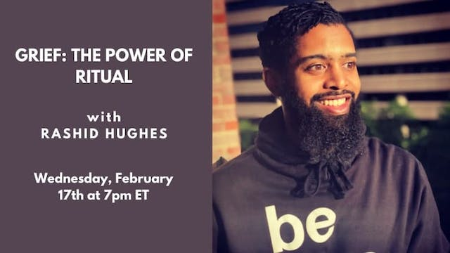 Recorded Talk: Rashid Hughes (2.17.21)