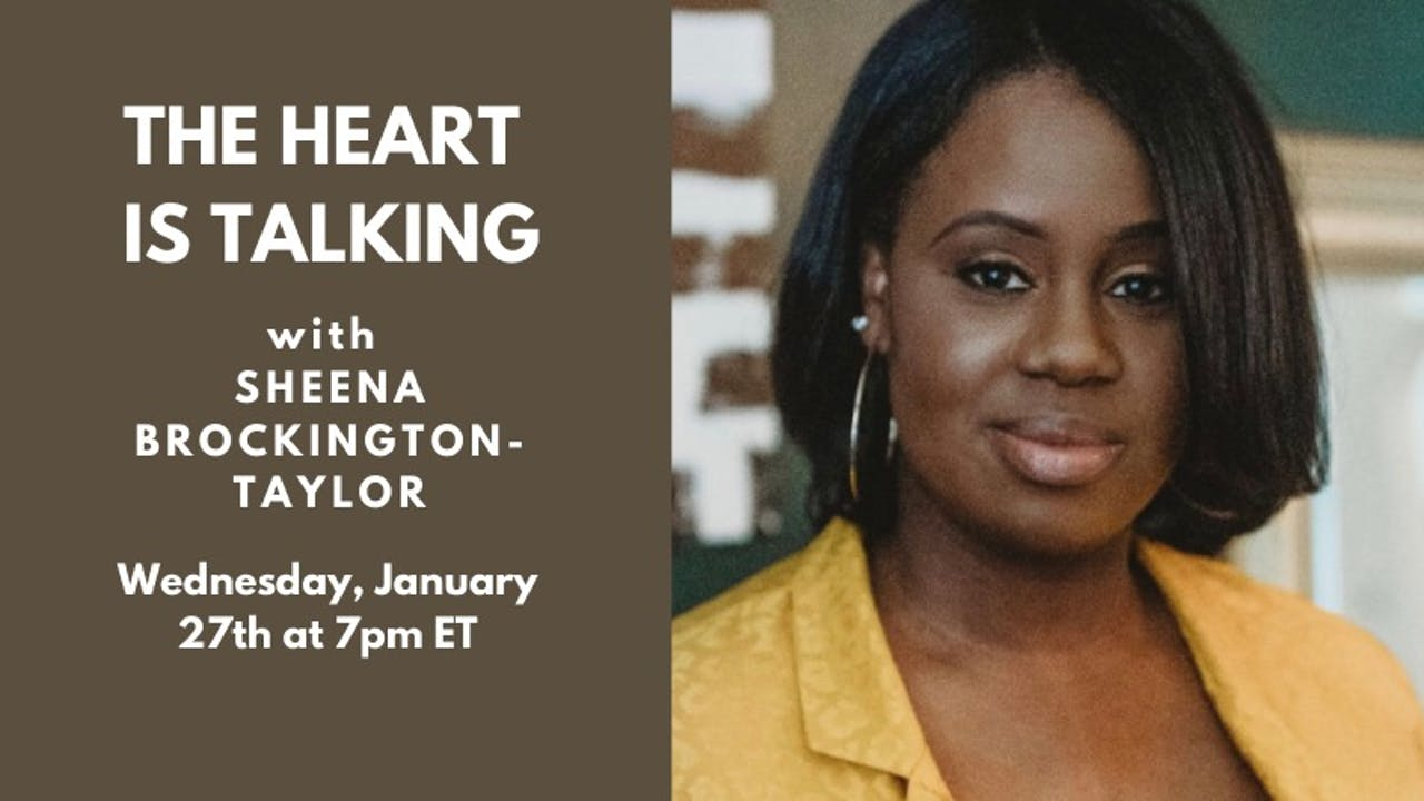 Live Talk: Sheena Brockington-Taylor (1.27.20)
