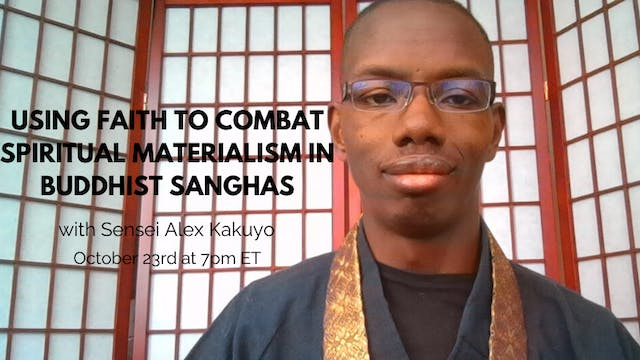 October 23rd, 2019: Sensei Alex Kakuyo