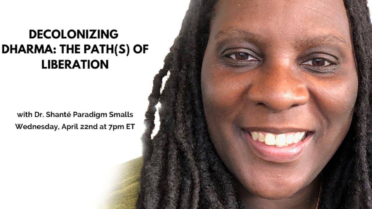 Recorded Talk: Dr. Shanté Smalls (5/13/20)