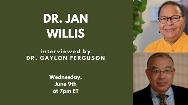 WDG with Dr. Jan Willis (06.09.21)
