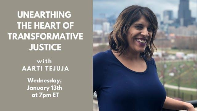 Recorded Talk: Aarti Tejuja (January 13, 2020)