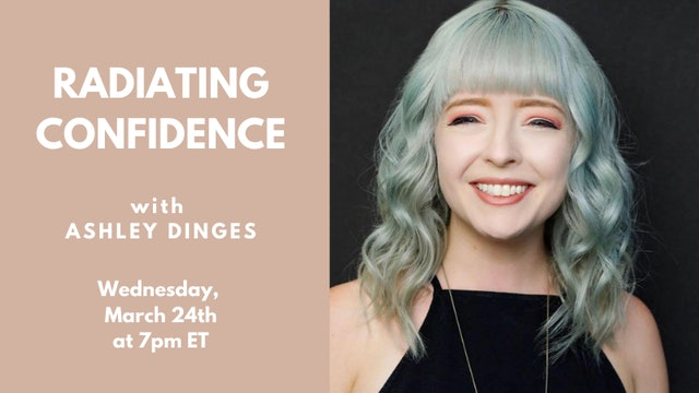 Recorded Talk: Ashley Dinges (03.24.21)