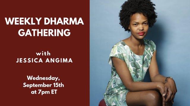Live Talk: Jessica Angima (9/15/21)