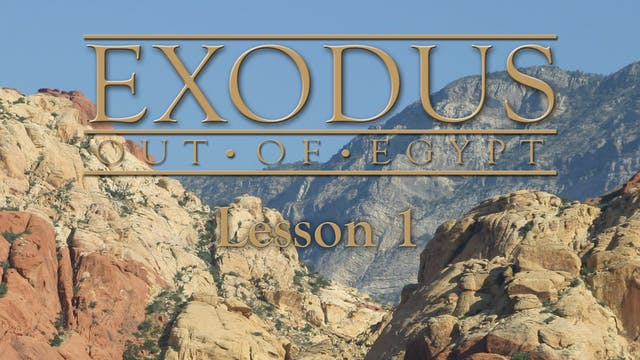Exodus Out of Egypt: The Changes Seri...