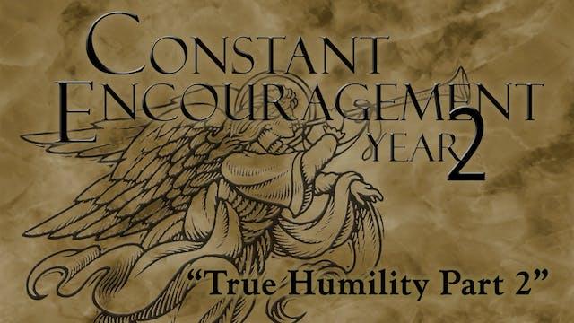 True Humility - Part 2