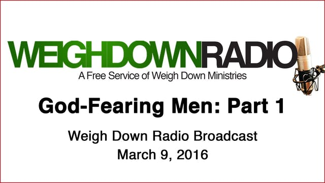 God-Fearing Men - Part 1
