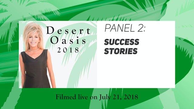 Desert Oasis 2018 - Panel 2 - Success...