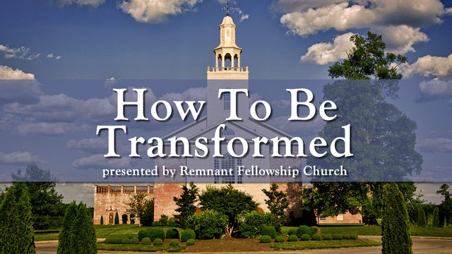 How To Be Transformed - Displacement and Meditation