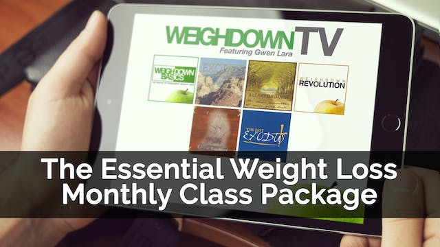 The Essential Weight Loss Monthly Class Package