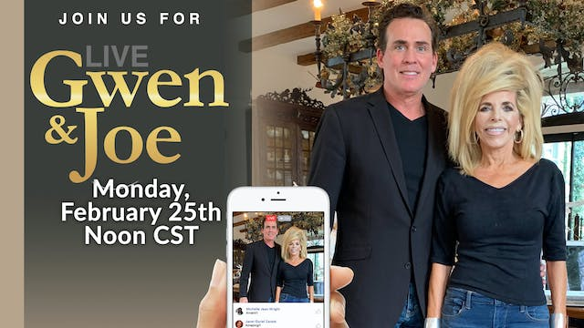Live with Gwen and Joe - February 25,...