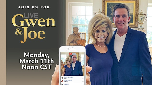 Live with Gwen and Joe - March 11, 2019