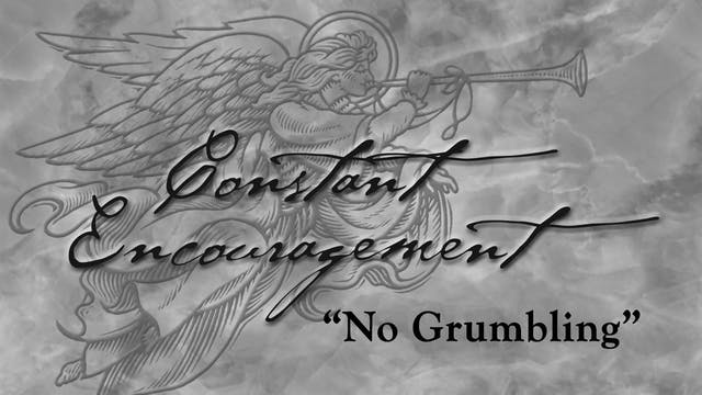 No Grumbling