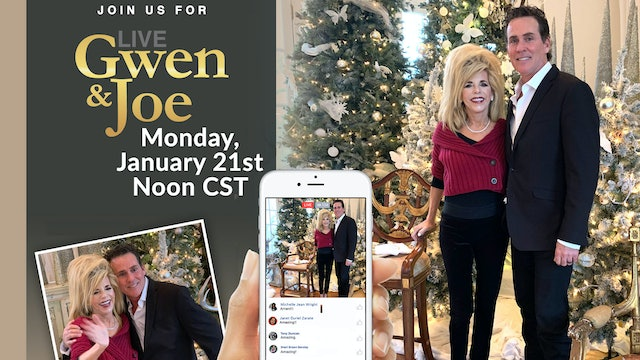 Live with Gwen and Joe - January 21, 2019