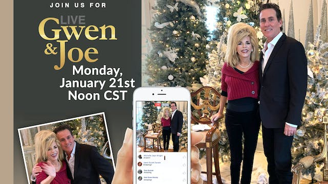 Live with Gwen and Joe - January 21, ...
