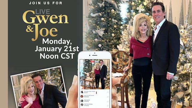 Live with Gwen and Joe - January 21, ...