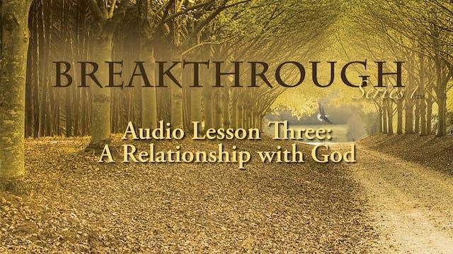 Breakthrough Audio Lesson 3