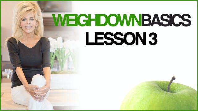 Weigh Down Basics - Lesson 3 - Jewels
