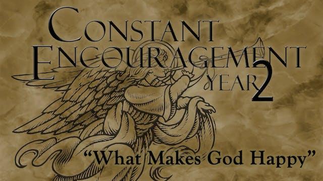What Makes God Happy?