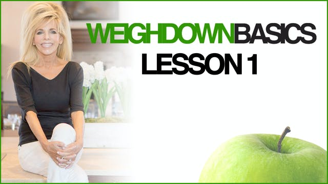 Weigh Down Basics - Lesson 1 - Waitin...